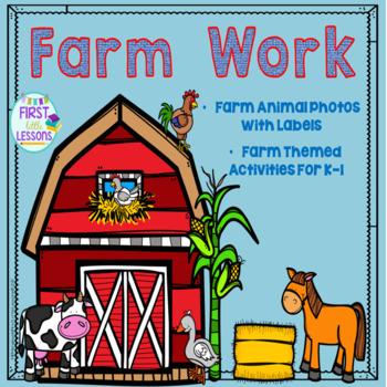 Farm Fun: Farm Themed Activities for K-1