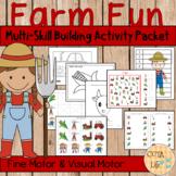 Farm Fun Fine Motor and Visual Motor Skills Packet