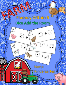 Farm Fluency Within 5 Dice Add the Room
