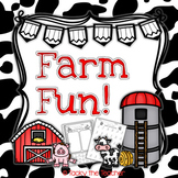 Farm Fun! Math & Literacy Bundle | EASY PREP Common Core Activities for K-2nd