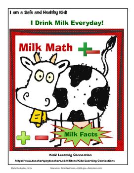 Farm Fun:  Milk Math