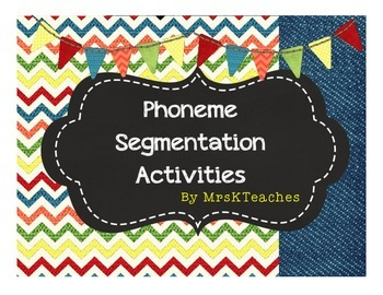 Farm Fun Phonemic Awareness Activities--Expanding File