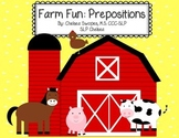 Farm Fun Prepositions