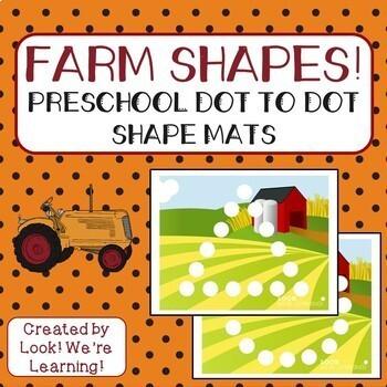 Farm Fun! Preschool Learning Bundle