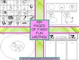 Farm Fun Writing