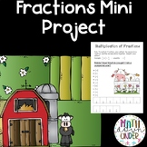 Farm Fun with Fractions- A Math Mini Booklet! Many Fractio