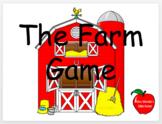 Farm Game - PreK Skills