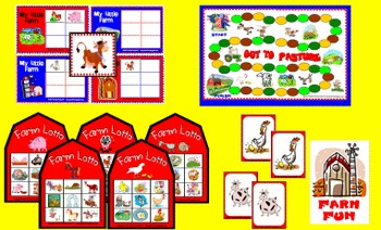 Farm Game Set