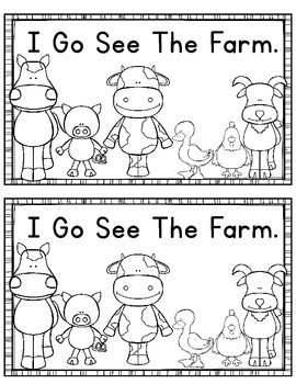 Farm Go Emergent Reader