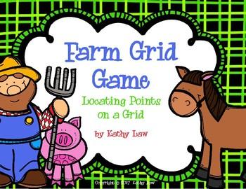 Farm Grid -- Coordinates on a Grid Game