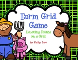 Farm Grid -- Coordinates on a Grid Game