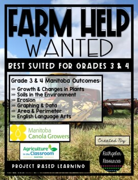 Farm Help Wanted {Project Based Learning Unit} Grades 3 & 4