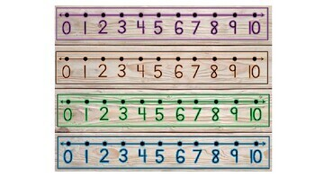 Farm House Number Lines