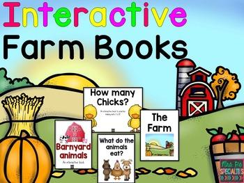 Farm: Interactive Books