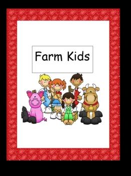 Farm Kids Center Sign