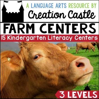 Farm Kindergarten Literacy Centers