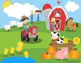Farm Language Building Activity