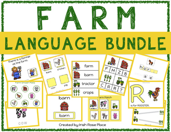 Farm Language Bundle with Adapted Books