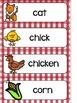 Farm Language and Math Activities- ENGLISH