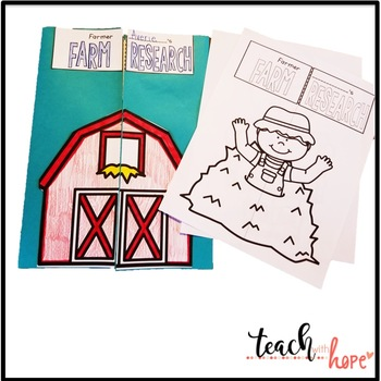 Farm Lap book and Interactive Notebook