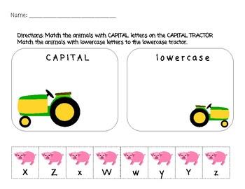 Farm Letter Sort