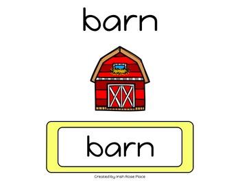 Farm Leveled Word Books (Adapted Books)
