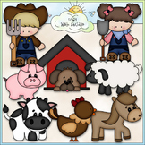 Farm Life Clip Art 2 - Farm Animals Clip Art - Farming - C