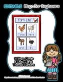 Farm Life - Animals - Supports 8 Words - Editable Bingo fo