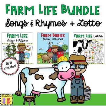 Farm Life BUNDLE: 40 Songs & Rhymes + LOTTO