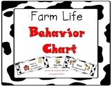 Farm Life Behavior Clip Chart