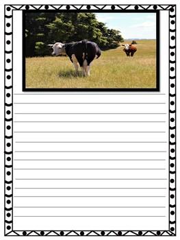 Farm Life Creative Writing Sheets