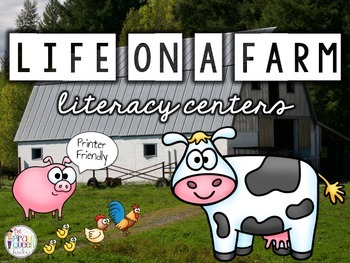 Farm Literacy Centers: Six Daily Five Centers for Bremen Town Musicians
