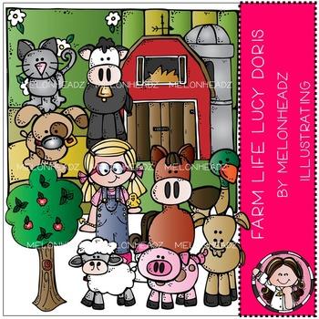 Melonheadz: Farm Life clip art - Lucy Doris - COMBO PACK