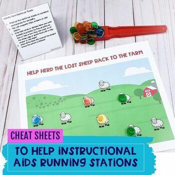 Farm Life PUSH-IN Language Lesson Plan Guides