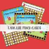 Farm Life Punch Cards