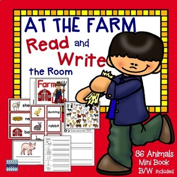 Farm Life:  Read and Write the Room