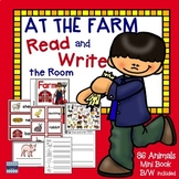 Farm Animals: Word Wall Cards, Center Activities and a Mini Book