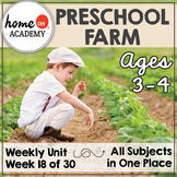 Farm Life - Weekly Unit for Preschool, PreK or Homeschool