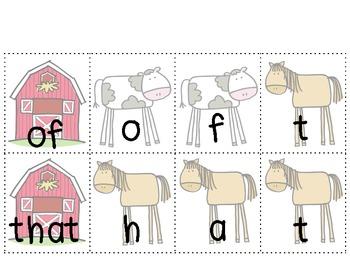 Farm Literacy Activities