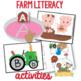 Farm Literacy Activities for Pre-K and Kindergarten
