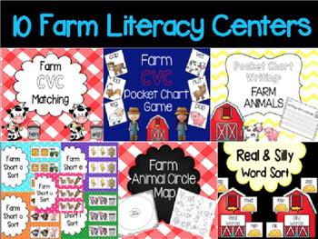 Farm Literacy Centers BUNDLE