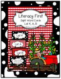 Farm Literacy First Sight Word Flash Cards