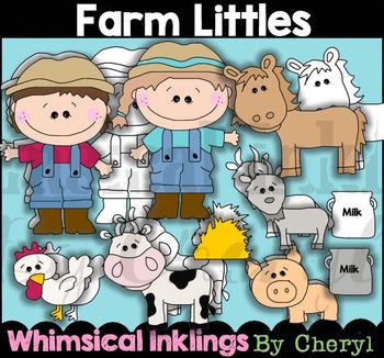 Farm Little Clipart Collection