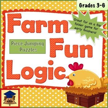 Farm Logic Jumping Puzzles