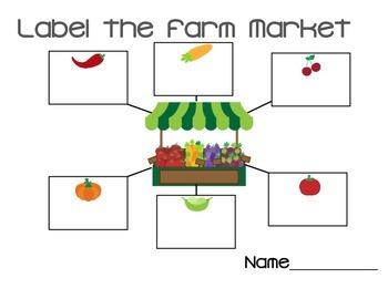 Farm Market/Harvest Label Web