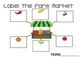 Farm Market/Harvest Label Web