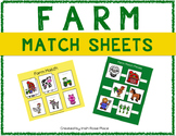 Farm Match Sheets