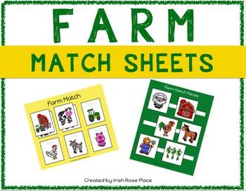Farm Match Sheets