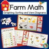 Farm Math with Sorting, Graphing and Venn Diagram