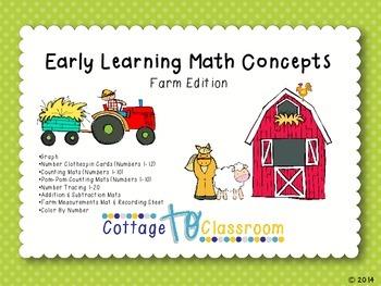 Farm Math Activities